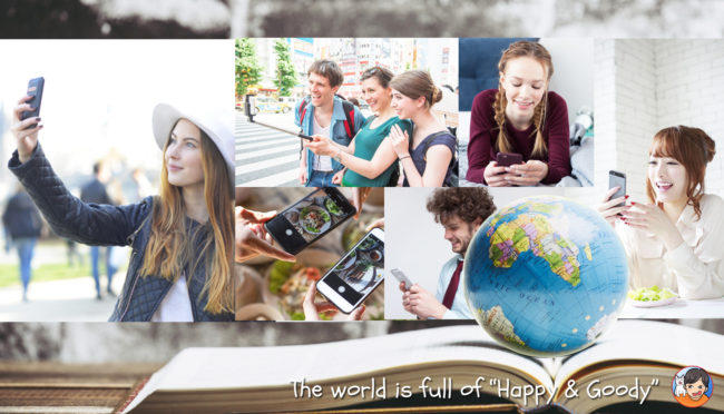"""The world is full of """"Happy & Goody"""""""